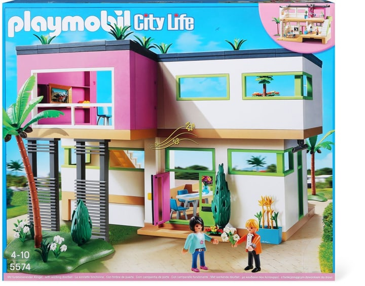 ersatzteile zubeh r zu playmobil w14 playmobil moderne luxusvilla 5574. Black Bedroom Furniture Sets. Home Design Ideas