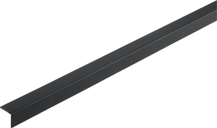 Winkel-Profil gleichschenklig 1 x 10 x 10 mm PVC schwarz 1 m alfer 605034500000 Bild Nr. 1