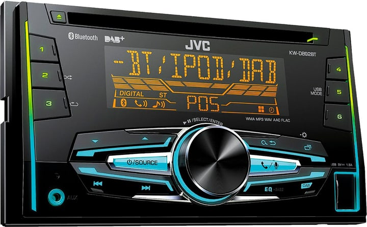 Autoradio CD Receiver, 2-DIN DAB+, Bluetooth Autoradio JVC 785300129753 Photo no. 1