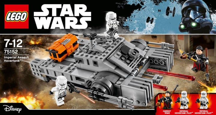 LEGO Star Wars Imperial Assault Hovertank 75152 748848900000