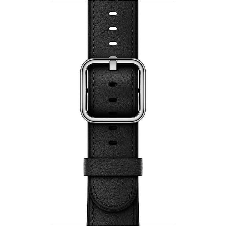 42 mm Klassisches Lederarmband, Schwarz Armband Apple 785300128938 Bild Nr. 1