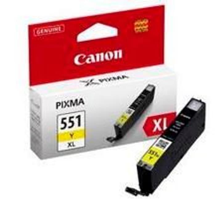 CLI-551 Tintenpatrone XL yellow Tintenpatrone Canon 796080100000 Bild Nr. 1