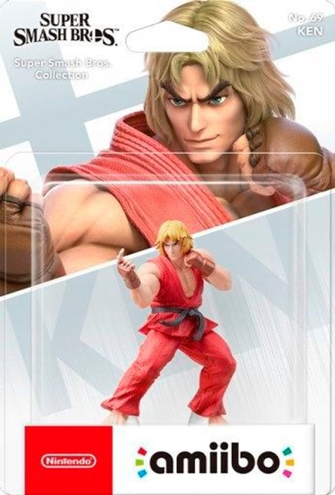 amiibo Super Smash Bros. Character - Ken 785300143256 Photo no. 1