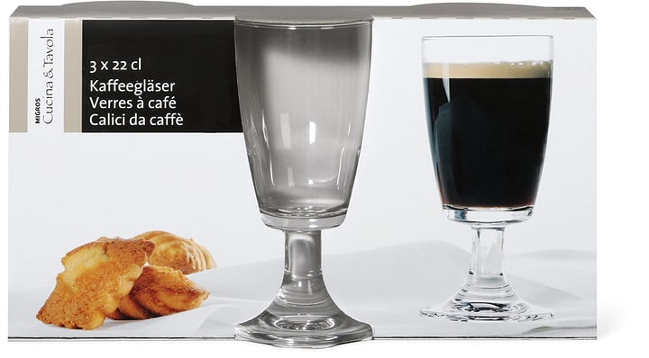 CUCINA & TAVOLA Kaffeegläser Cucina & Tavola 702306800000 Bild Nr. 1