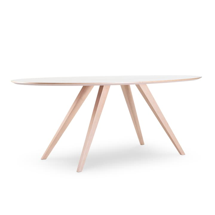 LORETTA table ovale 366181400000 Dimensions L: 200.0 cm x P: 100.0 cm x H: 74.0 cm Couleur Chêne Photo no. 1