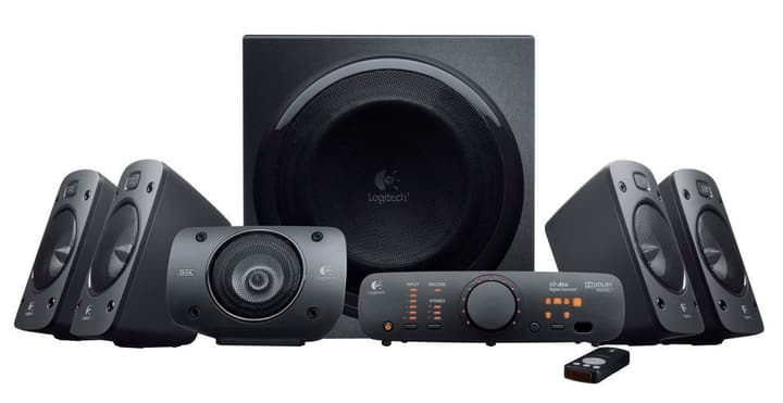 Z906 5.1 THX Speaker System 500 Watt Logitech 785300124172 Photo no. 1