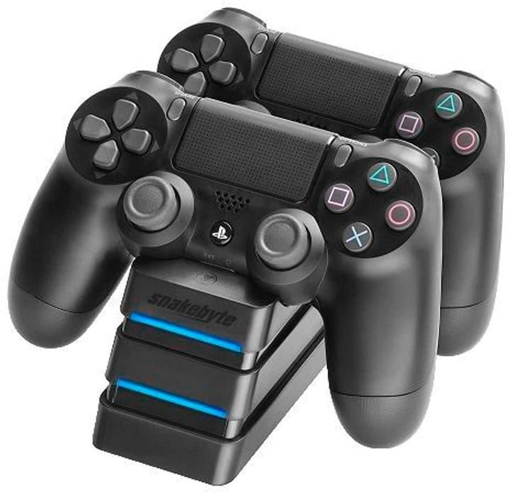 PS4 Twin: Charge 4 Stazione di ricarica Snakebyte 785300148704 N. figura 1