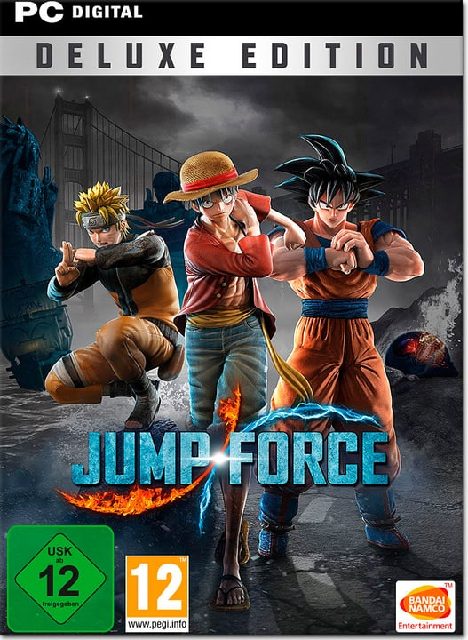 PC - Jump Force Deluxe Edition Download (ESD) 785300142276 N. figura 1
