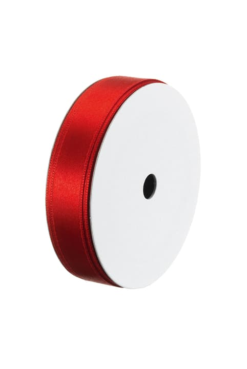 SATIN Ruban pour cadeau 440615701030 Couleur Rouge Dimensions L: 15.0 mm Photo no. 1