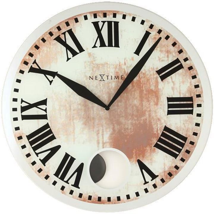 Orologio da parete Romana diametro bianco Horologe murale NexTime 785300140019 N. figura 1