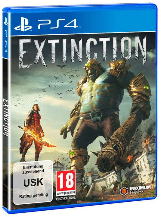 PS4 - Extinction (D) Box 785300132854 N. figura 1