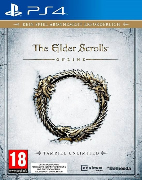 PS4 - The Elder Scrolls Online - Tamriel Unlimited 785300122023