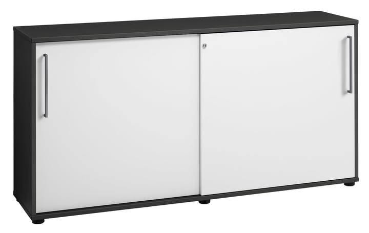 CONCEPT X Buffet 401829300000 Dimensions L: 156.2 cm x P: 40.6 cm x H: 79.3 cm Couleur Anthracite Photo no. 1