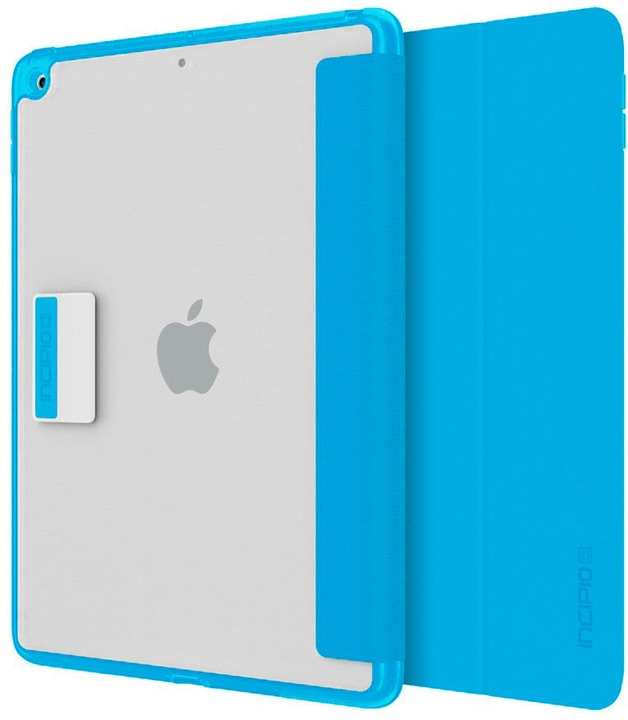 "Octane Pure Folio Case for Apple iPad 9.7"" clear/cyan Incipio 785300137119 Photo no. 1"