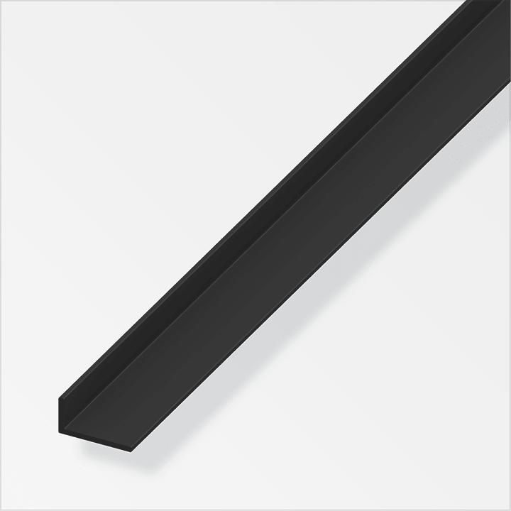 Cornière 2 x 20 x 25 mm PVC noir 1 m alfer 605142100000 Photo no. 1