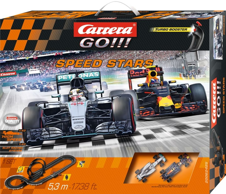 Carrera RC Speed Stars GO! 746221200000 Photo no. 1