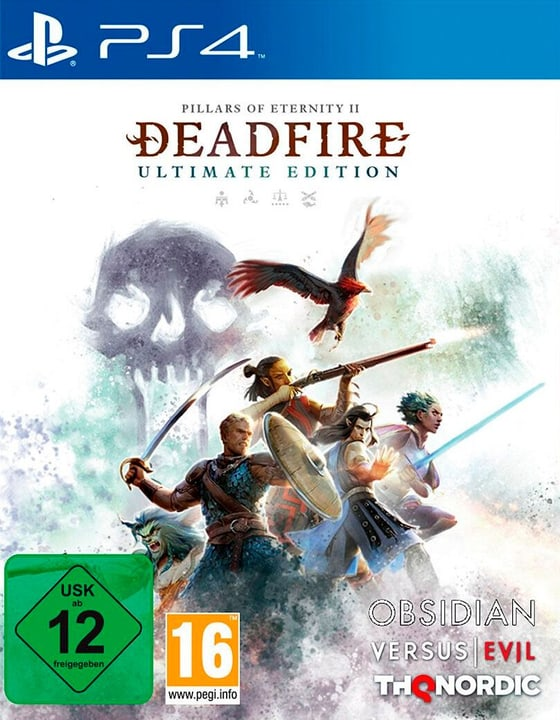PS4 - Pillars of Eternity II: Deadfire - Ultimate Edition F/I Box 785300148175 Photo no. 1