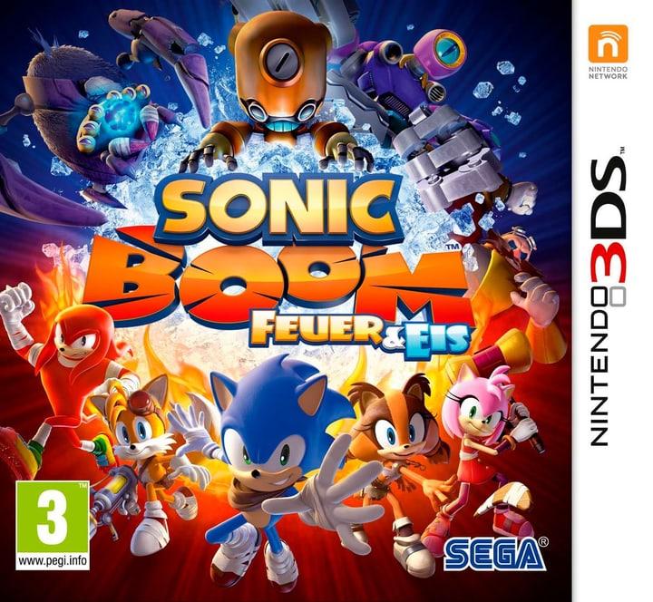 3DS - Sonic Boom: Feuer und Eis Physisch (Box) 785300121300 Bild Nr. 1