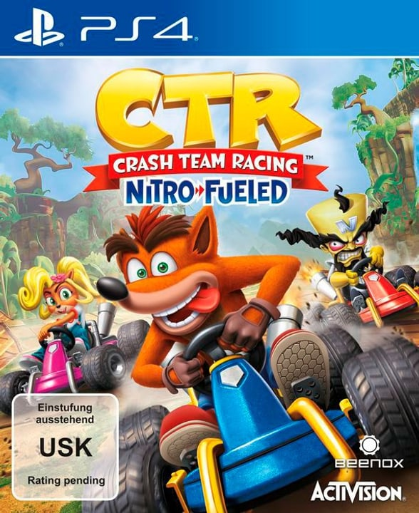 PS4 - CTR Crash Team Racing - Nitro-Fueled Box 785300141164 Langue Italien Plate-forme Sony PlayStation 4 Photo no. 1