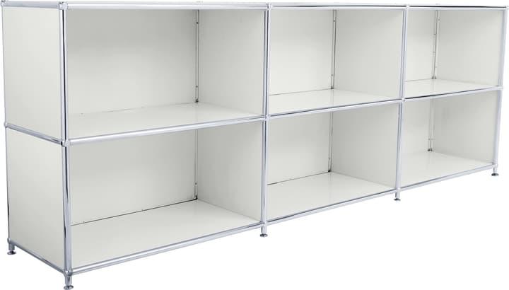 FLEXCUBE Sideboard 401809500081 Grösse B: 227.0 cm x T: 40.0 cm x H: 80.5 cm Farbe Hellgrau Bild Nr. 1