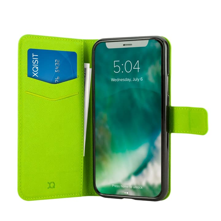 Case Viskan iPhone X green XQISIT 798601400000 Photo no. 1
