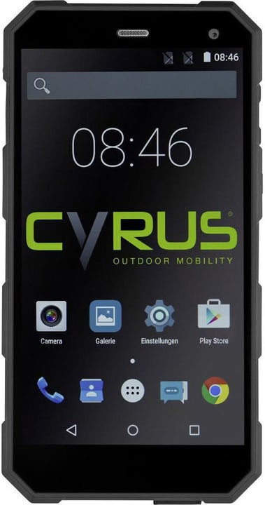 "CS24 noir DS, 5.0"", 1.5GHz QuadCo Smartphone Cyrus 785300133121 Photo no. 1"