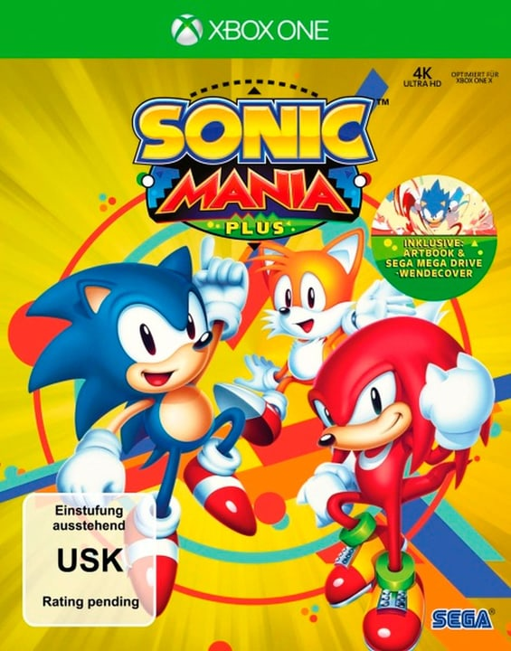 Xbox One - Sonic Mania Plus (F) Physisch (Box) 785300135228 Bild Nr. 1