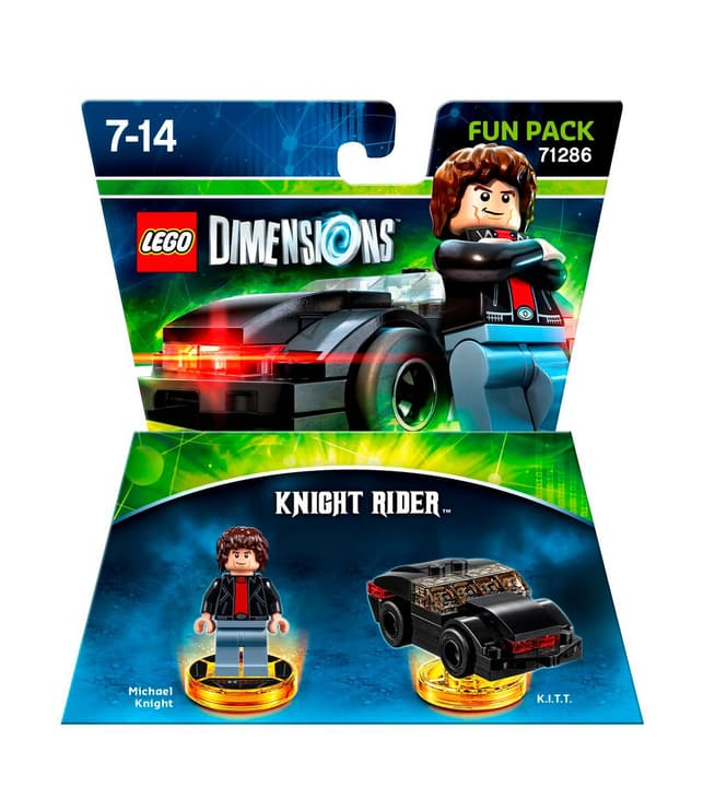 LEGO Dimensions - Fun Pack - Knight Rider Physique (Box) 785300121734 Photo no. 1
