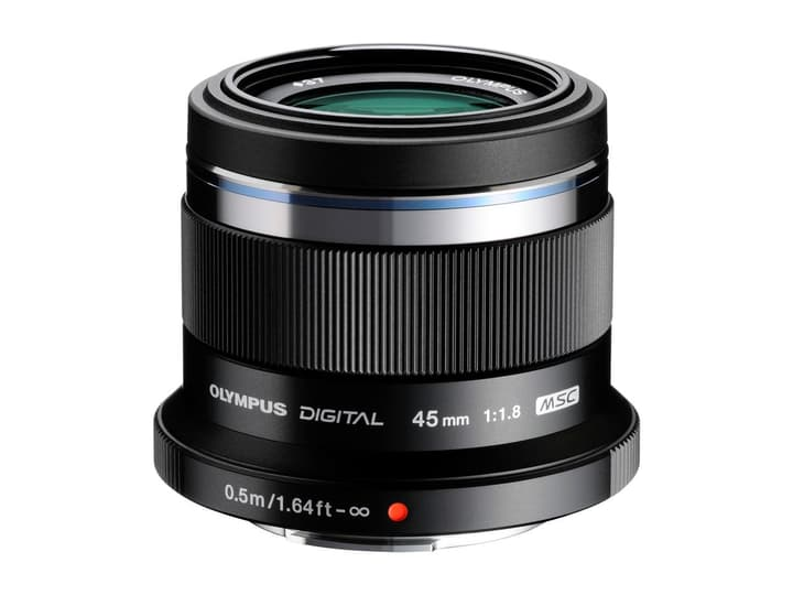 M.Zuiko DIGITAL 45mm f/1.8 Objektiv Schwarz Objektiv Olympus 785300125774 Bild Nr. 1