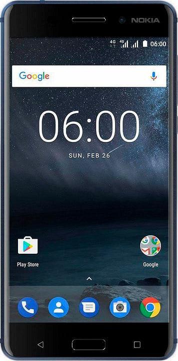 6 Single Sim blau Smartphone Nokia 785300133241 Bild Nr. 1