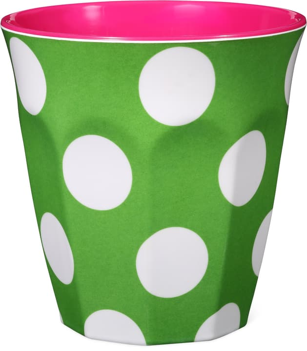 GINGER Gobelets 440258800050 Couleur Vert, Pink, Blanc Dimensions H: 9.0 cm Photo no. 1
