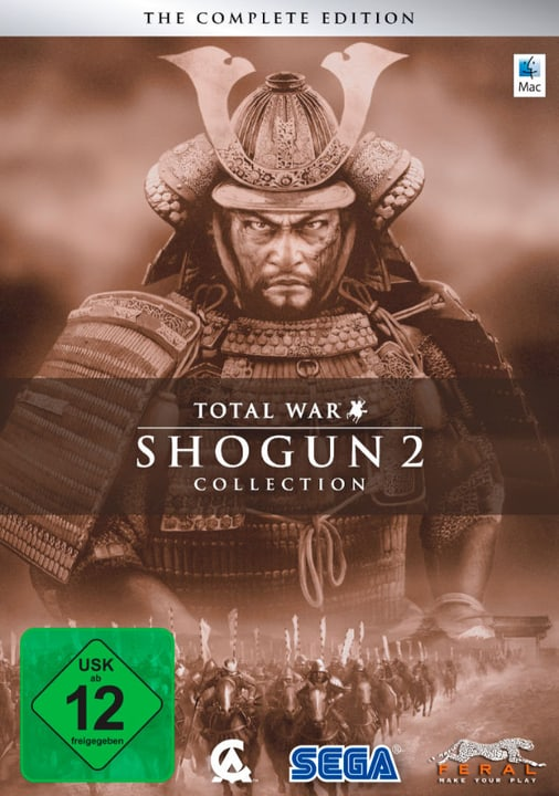Mac - Total War: SHOGUN 2 Collection Download (ESD) 785300134096 N. figura 1
