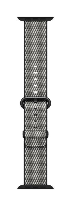 42mm Black Check Woven Nylon Apple 785300130651
