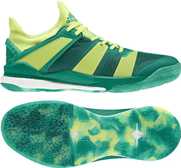 Stabil X Chaussures d'intérieur pour homme Adidas 461710643060 Couleur vert Taille 43 Photo no. 1