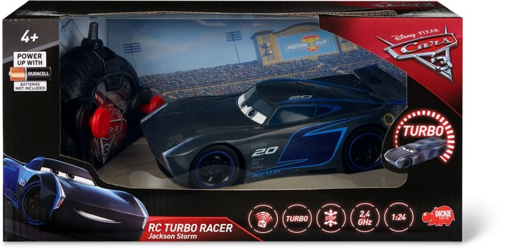 RC Cars 3 Turbo Racer Jackson Storm 747428700000 Photo no. 1