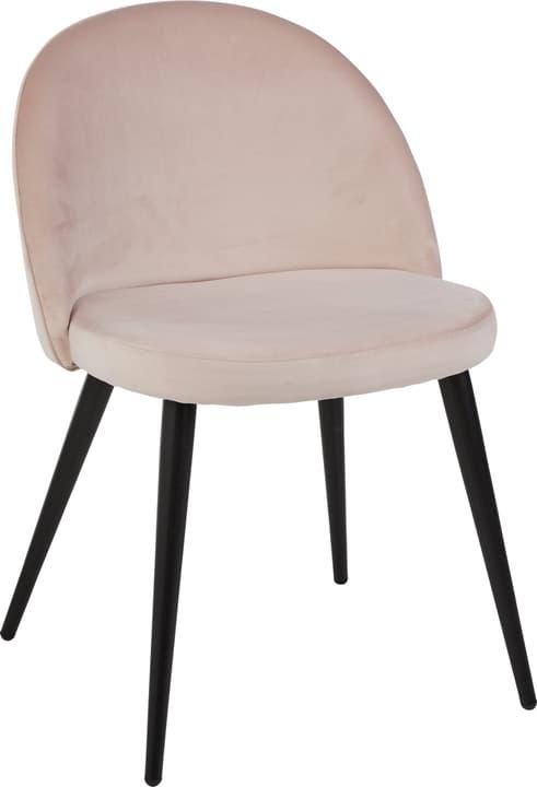 CONTI Stuhl 402360800038 Farbe Rosa Grösse B: 50.0 cm x T: 56.0 cm x H: 77.0 cm Bild Nr. 1