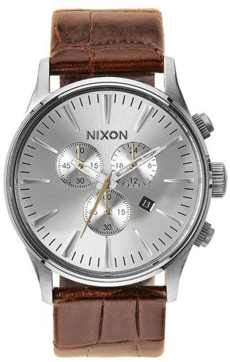 Sentry Chrono Leather Saddle Gator 42 mm Orologio da polso Nixon 785300136978 N. figura 1