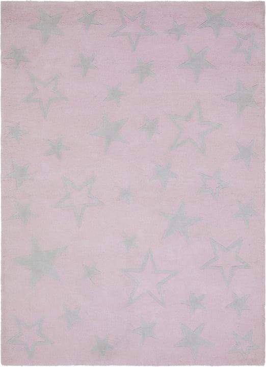 LILLY Teppich 411987710438 Grösse B: 100.0 cm x T: 140.0 cm Farbe Rosa Bild Nr. 1