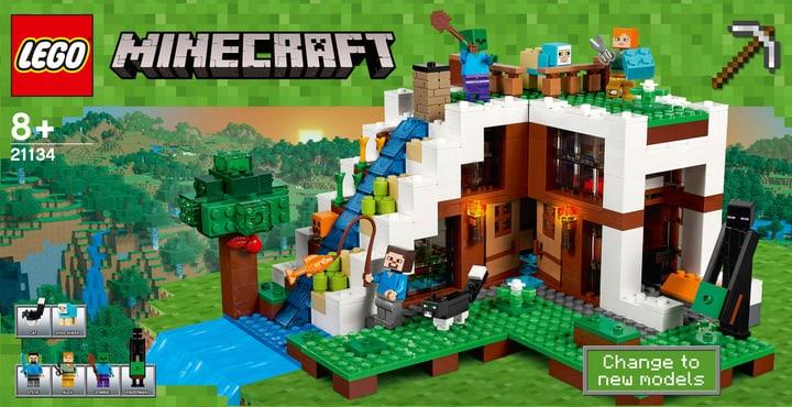 Lego Minecraft La base sous la cascade 21134 748859200000 Photo no. 1