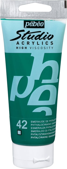 Pébéo Studio Acrylic Pebeo 663509831042 Colore Smeraldo N. figura 1