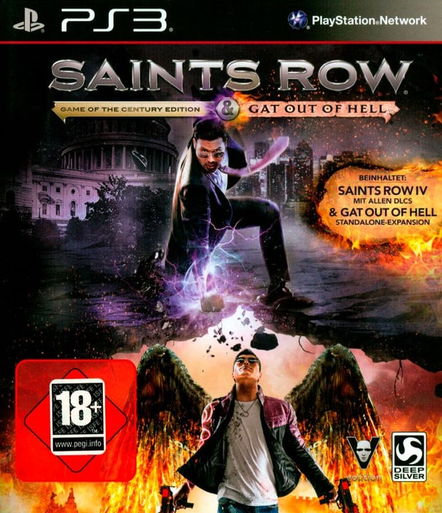 PS3 - Saints Row IV - Game of the Year Edition Box 785300121887 N. figura 1