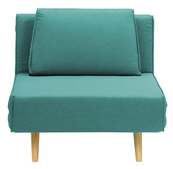 HENNI Canapé-lit 402924600144 Dimensions L: 92.0 cm x P: 90.0 cm x H: 78.0 cm Couleur Turquoise Photo no. 1