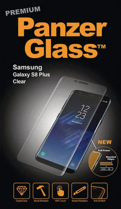 Premium Clear Galaxy S8 Plus Pellicola prottetiva Panzerglass 785300134532 N. figura 1