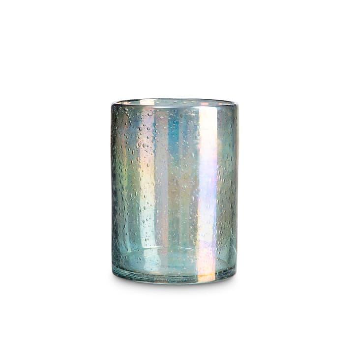 SKAGY Teelichthalter 396063700000 Grösse B: 14.0 cm x T: 14.0 cm x H: 19.0 cm Farbe Grün Bild Nr. 1