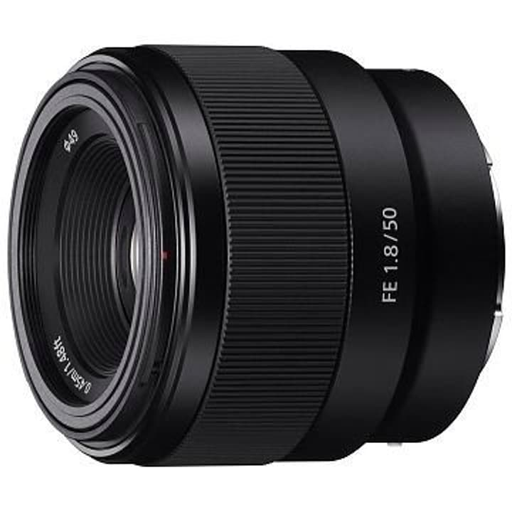 FE 50mm F/1.8 (SEL-50F18F) objectif Objectif Sony 793424500000 Photo no. 1