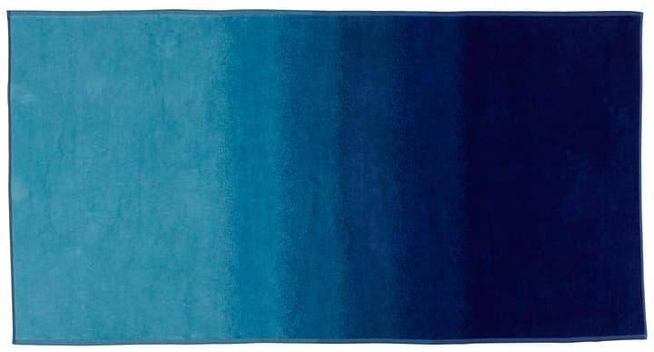 LIAM Strandtuch 450854022540 Farbe Blau Grösse B: 90.0 cm x H: 180.0 cm Bild Nr. 1