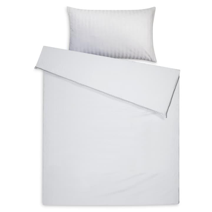 DAMAST Taie d'oreiller satin 376074110810 Dimensions L: 70.0 cm x L: 50.0 cm Couleur Blanc Photo no. 1