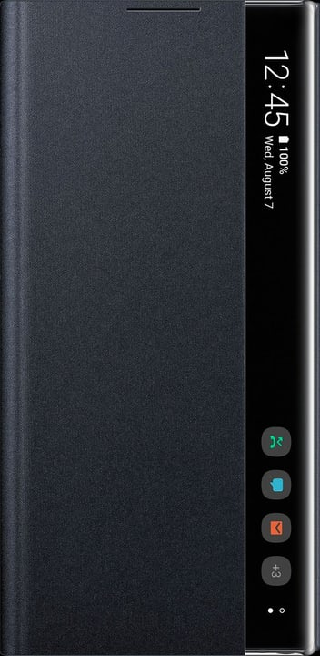 Clear View Cover black Custodia Samsung 798642000000 N. figura 1
