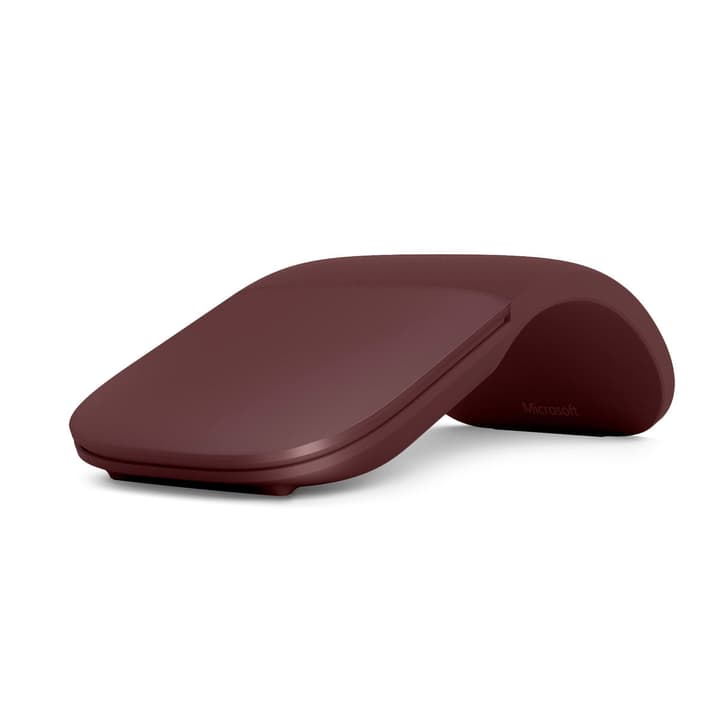 Surface Arc Mouse Burgundy Microsoft 798407200000 Photo no. 1