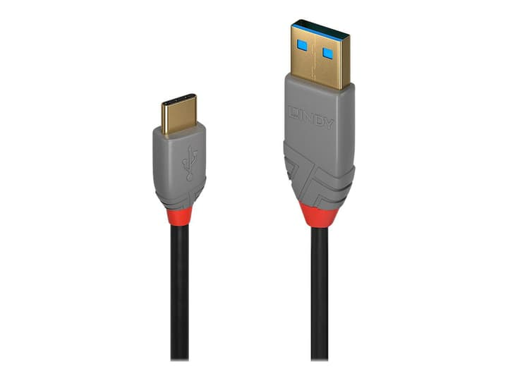 USB 2.0 Typ A - C Cavo, Anthra Line 2m Cavo LINDY 785300141592 N. figura 1